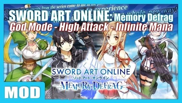 SWORD ART ONLINE Memory Defrag mod