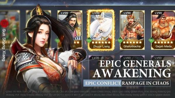 Three Kingdoms Raja Chaos mod apk
