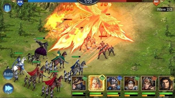 Three Kingdoms Raja Chaos mod ios