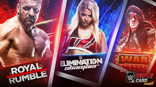 WWE SuperCard mod ios