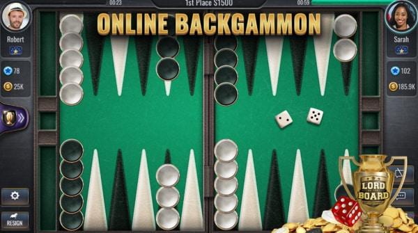 Backgammon Online mod