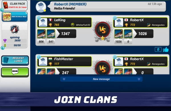 Fishing Clash mod ios
