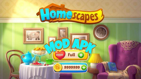 Homescapes mod