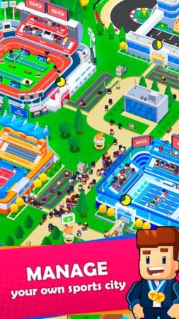 Idle Sports City Tycoon Game mod apk