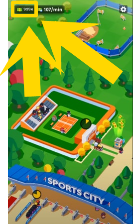 Idle Sports City Tycoon Game mod