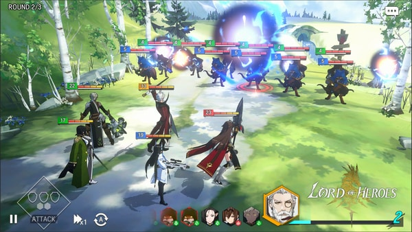 Lord of Heroes mod ios