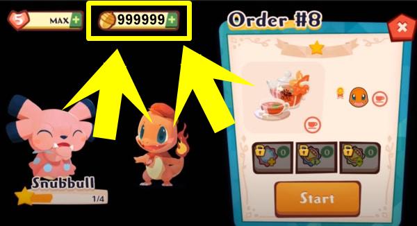 Pokemon Cafe Mix mod ios