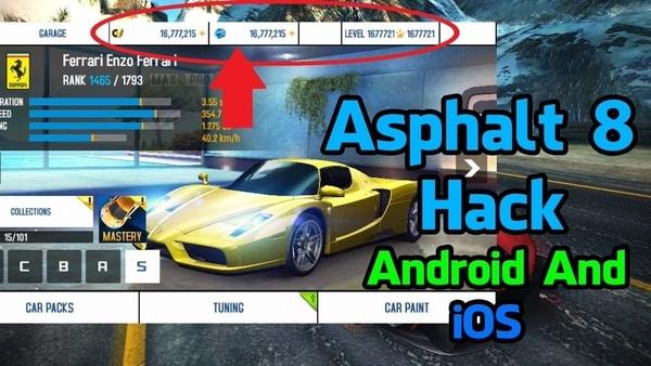 Asphalt 8 Racing Game mod apk