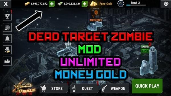 DEAD TARGET: Zombie Offline mod