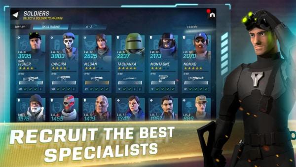 Tom Clancy's Elite Squad mod ios