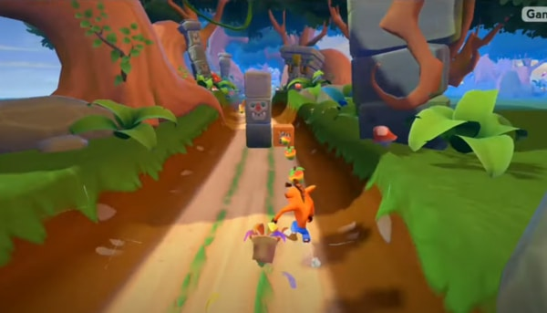 Crash Bandicoot: On the Run! mod ios