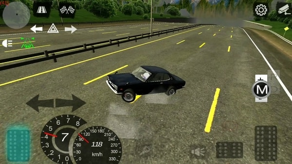 Manual Gearbox Car Parking mod