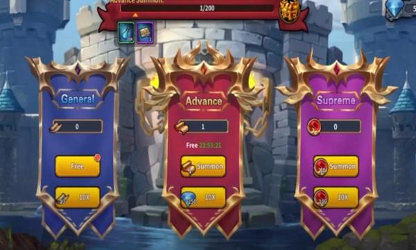 Runelords Arena mod apk