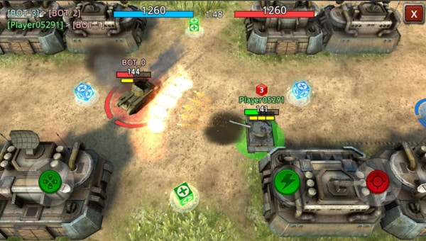 battle tank2 mod ios