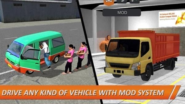 Bus Simulator Indonesia mod ios