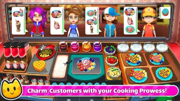 Cooking Games Chef Cat Ava mod apk