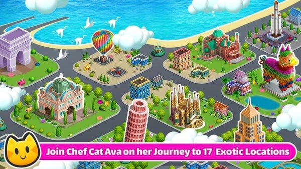 Cooking Games Chef Cat Ava mod ios