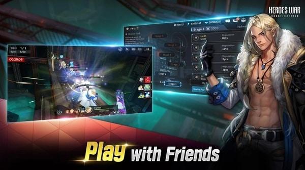 Heroes War: Counterattack mod ios
