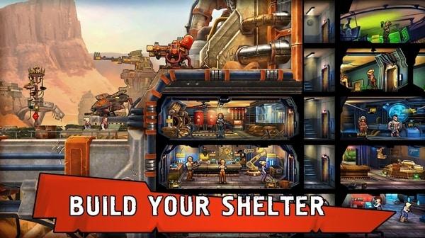 Shelter War mod