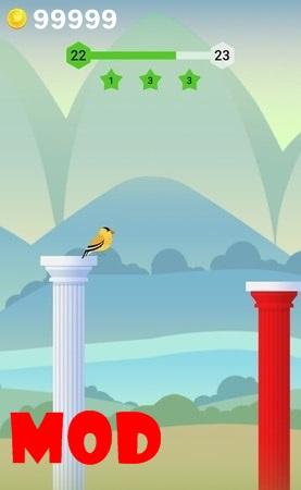 Bouncy Bird mod ios