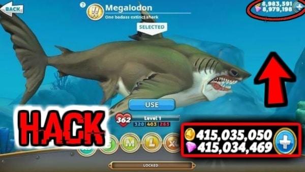 Hungry Shark World mod