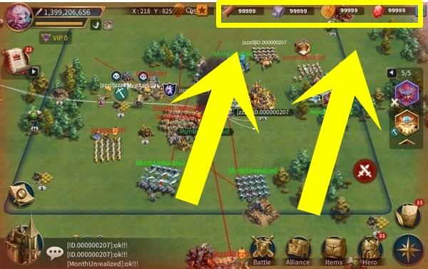 Empires Mobile mod