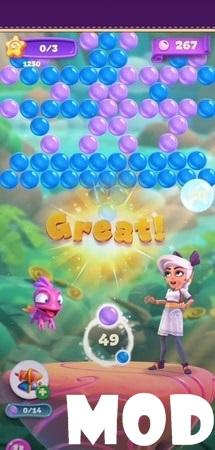 Luna's Quest Bubble Shooter mod apk