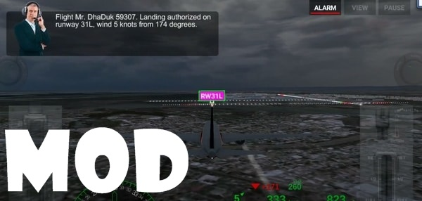 Airline Commander mod ios