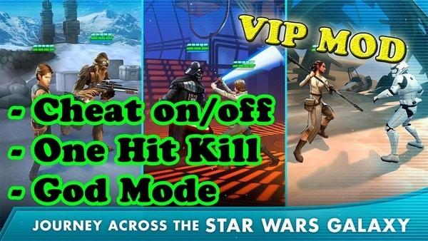 Star Wars: Galaxy of Heroes mod ios