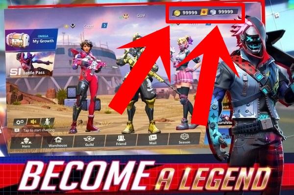 Omega Legends mod
