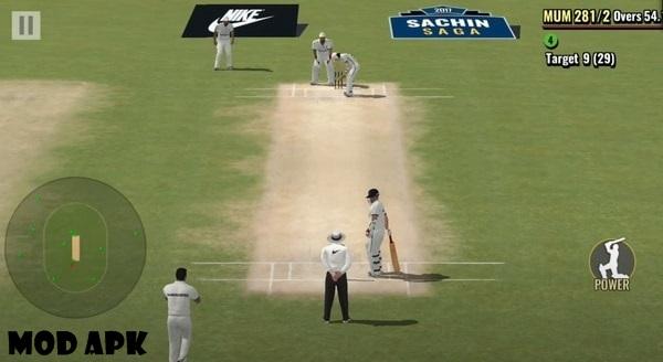 Sachin Saga Cricket Champions mod apk