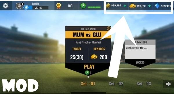 Sachin Saga Cricket Champions mod