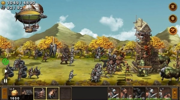 Battle Seven Kingdoms mod ios