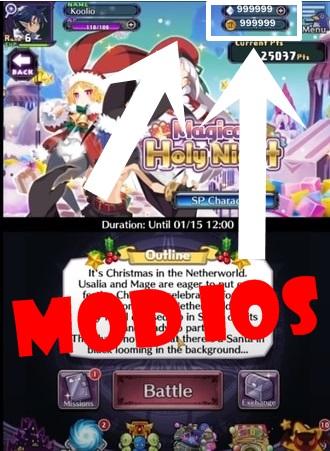 DISGAEA RPG mod ios