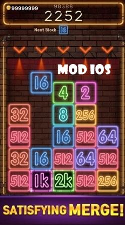 Drop Number: Neon mod ios