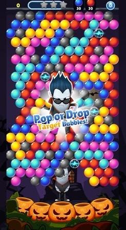 SPOOKIZ PANG: Bubble Shooting mod apk