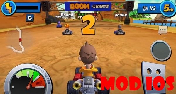 Boom Karts mod ios