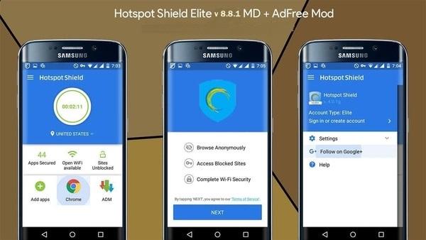 Hotspot Shield mod ios