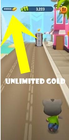 Talking Tom Gold Run mod ios