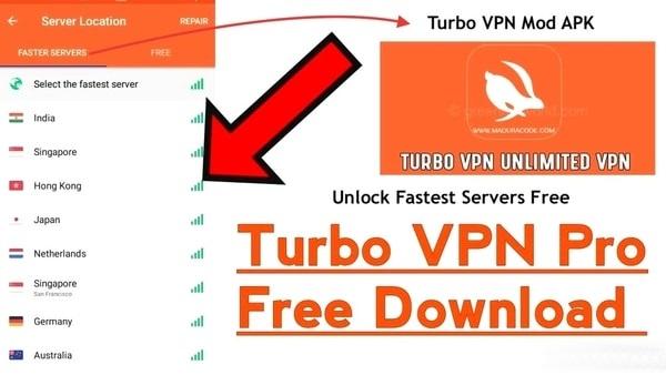 Turbo VPN mod