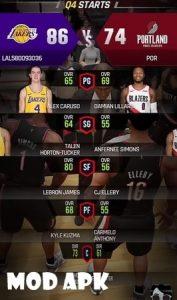NBA NOW 21 mod apk
