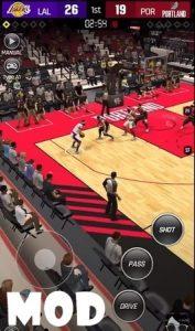NBA NOW 21 mod ios