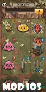 Neko Dungeon: Puzzle RPG mod ios